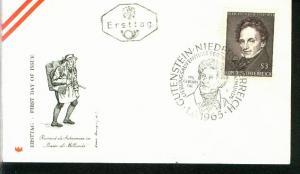 Österreich Mi.-Nr.: 1183  FDC