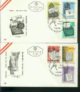 Österreich Mi.-Nr.: 1184/89  FDC