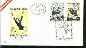 Österreich Mi.-Nr.: 1190/91  FDC