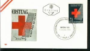 Österreich Mi.-Nr.: 1195  FDC