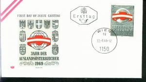 Österreich Mi.-Nr.: 1306  FDC