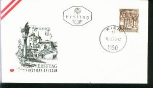 Österreich Mi.-Nr.: 1324  FDC