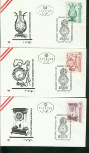 Österreich Mi.-Nr.: 1344/46  FDC