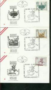 Österreich Mi.-Nr.: 1355/57  FDC
