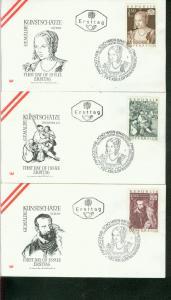 Österreich Mi.-Nr.: 1360/62  FDC