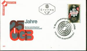 Österreich Mi.-Nr.: 1369  FDC