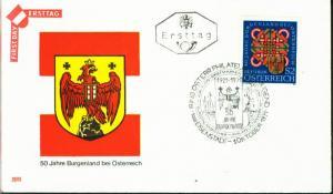 Österreich Mi.-Nr.: 1370  FDC