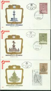 Österreich Mi.-Nr.: 1382/84  FDC