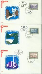 Österreich Mi.-Nr.: 1389/91  FDC