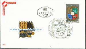 Österreich Mi.-Nr.: 1401  FDC