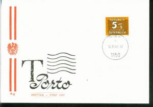 Österreich Mi.-Nr.: 260 Portomarke  FDC