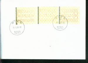 Österreich Mi.-Nr.: 2 ATM  FDC