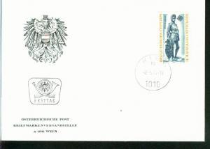 Österreich Mi.-Nr.: 1450  FDC
