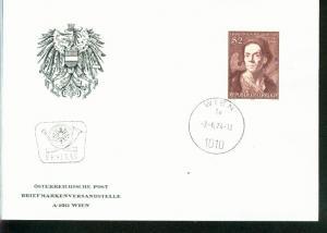 Österreich Mi.-Nr.: 1455  FDC