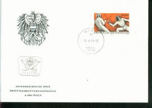 Österreich Mi.-Nr.: 1456  FDC