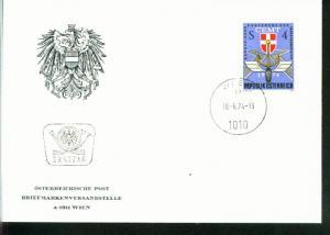 Österreich Mi.-Nr.: 1457  FDC