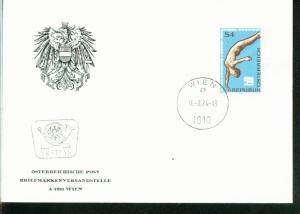 Österreich Mi.-Nr.: 1461  FDC