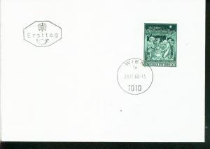 Österreich Mi.-Nr.: 1276  FDC