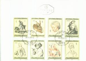 Österreich Mi.-Nr.: 1307/14  FDC