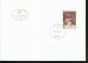 Österreich Mi.-Nr.: 1318  FDC