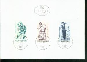 Österreich Mi.-Nr.: 1331/33  FDC