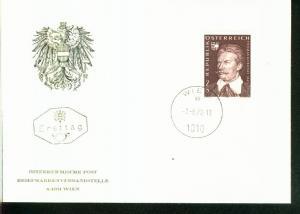 Österreich Mi.-Nr.: 1236  FDC