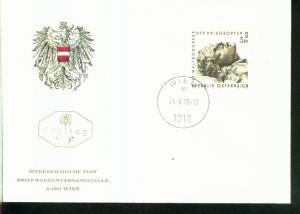Österreich Mi.-Nr.: 1237  FDC