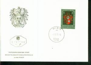 Österreich Mi.-Nr.:1343  FDC