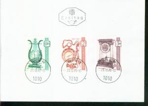 Österreich Mi.-Nr.:1344/46  FDC
