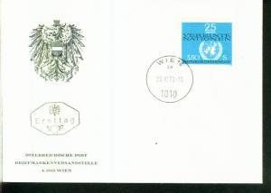 Österreich Mi.-Nr.:1347  FDC
