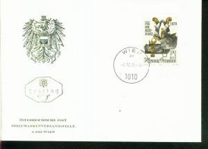 Österreich Mi.-Nr.:1350  FDC