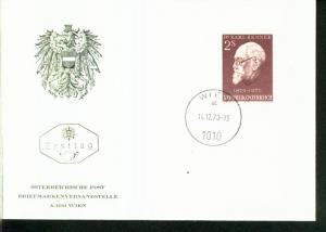 Österreich Mi.-Nr.:1351  FDC