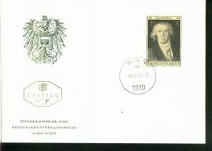 Österreich Mi.-Nr.:1352  FDC