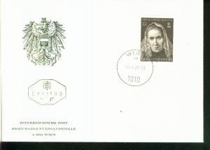 Österreich Mi.-Nr.:1353  FDC