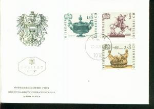 Österreich Mi.-Nr.:1355/57  FDC