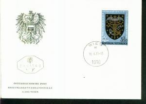 Österreich Mi.-Nr.:1358  FDC