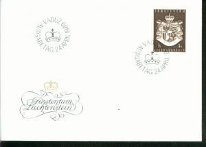 Liechtenstein Mi.-Nr.:506  FDC