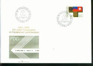 Liechtenstein Mi.-Nr.:517  FDC