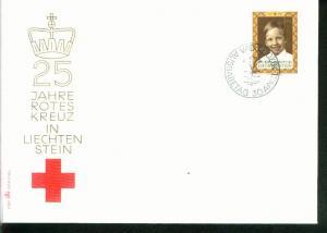 Liechtenstein Mi.-Nr.: 526  FDC