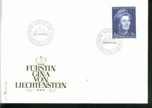 Liechtenstein Mi.-Nr.: 544  FDC