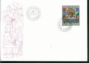 Liechtenstein Mi.-Nr.: 590  FDC