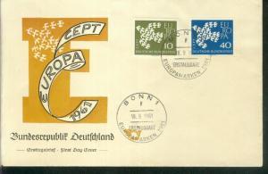 Bund Mi.-Nr.: 367/68  FDC