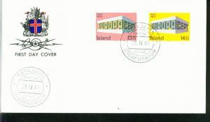Island  Mi.-Nr.: 428/29  FDC