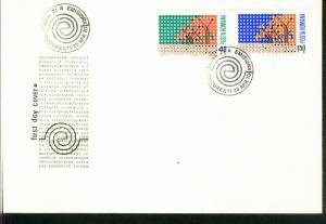 Rumänien Mi.-Nr.: 2833/34  FDC