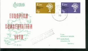 Irland Mi.-Nr.: 237/38  FDC