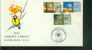 Türkei Mi.-Nr.: 2158/60  FDC
