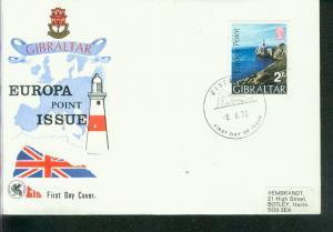 Gibraltar  Mi.-Nr.: 236  FDC