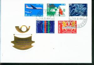 Schweiz Mi.-Nr.: 895/99  FDC