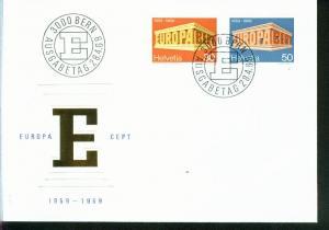 Schweiz Mi.-Nr.: 900/01  FDC