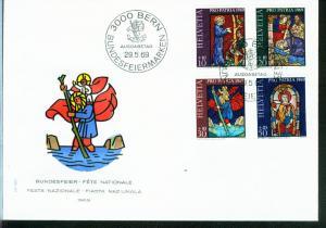 Schweiz Mi.-Nr.: 902/05  FDC